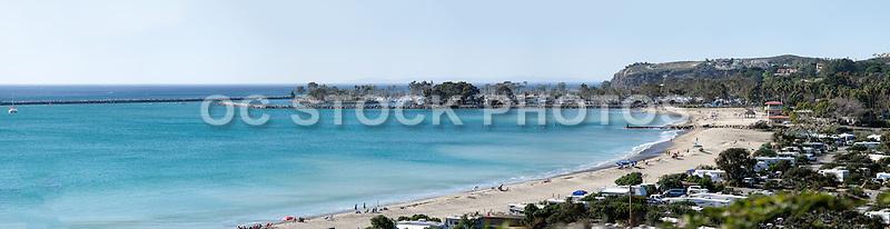Dana Point California Pano Stock Photo