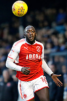 New signing Toumani Diagouraga of Fleetwood Town during the Sky Bet League 1 match between Southend United and Fleetwood Town at Roots Hall, Southend, England on 13 January 2018. Photo by Carlton Myrie.