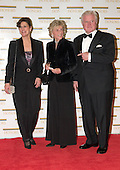 "United States Senator Edward M. (Ted) Kennedy (Democrat of Massachusetts), right, his wife, Victoria Reggie Kennedy, left, and sister, former United States Ambassador to Ireland Jean Kennedy Smith, arrive at the Harry S. Truman Building (Department of State) in Washington, D.C. on December 4, 2004 for a dinner hosted by United States Secretary of State Colin Powell.  At the dinner six performing arts legends will receive the Kennedy Center Honors of 2004.  This is the 27th year that the honors have been bestowed on ""extraordinary individuals whose unique and abundant artistry has contributed significantly to the cultural life of our nation and the world"" said John F. Kennedy Center for the Performing Arts Chairman Stephen A. Schwarzman.  The award recipients are: actor, director, producer, and writer Warren Beatty; husband-and-wife actors, writers and producers Ossie Davis and Ruby Dee; singer and composer Elton John; soprano Joan Sutherland; and composer and conductor John Williams.<br /> Credit: Ron Sachs / CNP"
