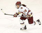 Meagan Mangene (BC - 24) - The Boston College Eagles defeated the visiting Harvard University Crimson 6-2 on Sunday, December 5, 2010, at Conte Forum in Chestnut Hill, Massachusetts.