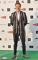 """LONDON, ENGLAND - JULY 22: Sam Gittins at the """"Break"""" first ever UK Drive-In film premiere, Stadium Car Park off Brent Cross Shopping Centre, Stadium Road, on Wednesday 22 July 2020 in London, England, UK. <br /> CAP/CAN<br /> ©CAN/Capital Pictures"""