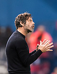 Coach Enrique Sanchez Flores of RCD Espanyol reacts during the La Liga match between Atletico de Madrid and RCD Espanyol at the Vicente Calderón Stadium on 03 November 2016 in Madrid, Spain. Photo by Diego Gonzalez Souto / Power Sport Images