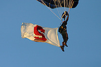 16 September 2006: The Navy Leap Frogs during Stanford's 37-9 loss to Navy during the grand opening of the new Stanford Stadium in Stanford, CA.