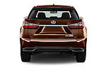 Straight rear view of 2016 Lexus RX Privilege Line 5 Door Suv Rear View  stock images