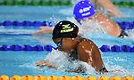 Alia ATKINSON (JAM) in the womens 50m breaststroke semi-final 2. Swimming finals. XXI Commonwealth games. Optus Aquatics Centre. Gold Coast 2018. Queensland. Australia. 05/04/2018. ~ MANDATORY CREDIT Garry Bowden/SIPPA - NO UNAUTHORISED USE - +44 7837 394578
