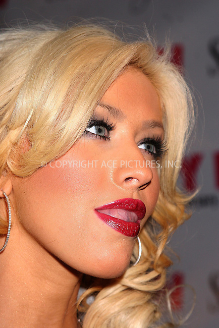 WWW.ACEPIXS.COM . . . . .  ....March 21, 2007, New York City.....Christina Aguilera attends Nylon Magazine's 8th Anniversary Party at the Gansevoort Hotel.....Please byline: JOHN WARD - ACEPIXS.COM.... *** ***..Ace Pictures, Inc:  ..Philip Vaughan  (646) 769 0430..e-mail: info@acepixs.com..web: http://www.acepixs.com