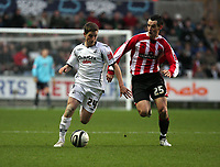 Pictured: Angel Rangel of Swansea City<br />