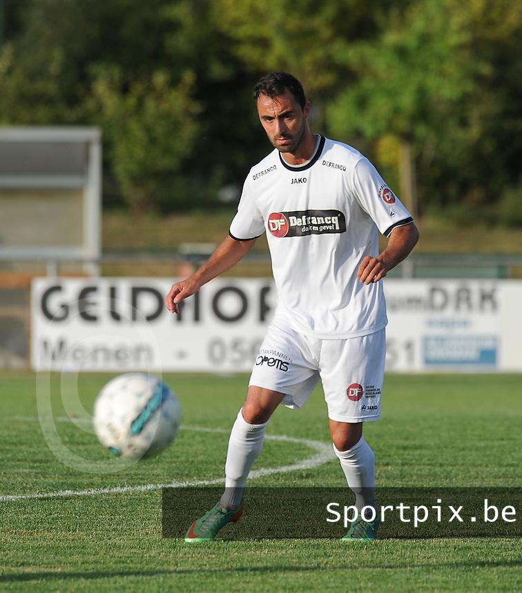 KSCT Menen - Winkel Sport :<br /> <br /> Winkel Sport : Jessy Lebsir<br /> <br /> foto VDB / BART VANDENBROUCKE