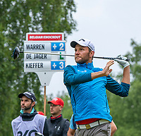 Maximilian Kieffer (GER) during the 1st round of the Belgian Knockout, Rinkven International Golf Club, Antwerp, Belgian. 30/05/2019.<br /> Picture Pascale Vandewalle / Golffile.ie<br /> <br /> All photo usage must carry mandatory copyright credit (© Golffile | Pascale Vandewalle)