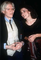 Andy Warhol Margaret Trudeau<br />