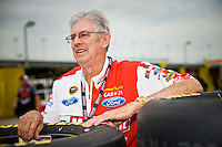 Glen Wood of the Wood Brothers Racing Team.