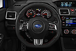 Car pictures of steering wheel view of a 2018 Subaru WRX Base 4 Door Sedan