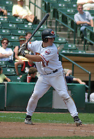 July 14, 2003:  Brandon Marsters of the Rochester Red Wings during a game at Frontier Field in Rochester, New York.  Photo by:  Mike Janes/Four Seam Images