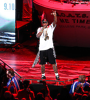 IRVINE, CA - SEPTEMBER 01: Rapper 2 Chainz performs during the America's Most Wanted Music Festival 2013 at the Verizon Wireless Amphitheater on September 1, 2013 in Irvine, California. (Photo by Xavier Collin/Celebrity Monitor)