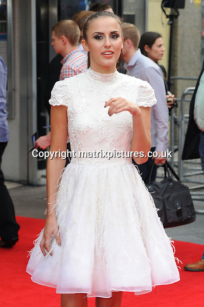 NON EXCLUSIVE PICTURE: PAUL TREADWAY / MATRIXPICTURES.CO.UK<br /> PLEASE CREDIT ALL USES<br /> <br /> WORLD RIGHTS<br /> <br /> &quot;Made In Chelsea&quot; reality TV star Lucy Watson attending the UK premiere of Hummingbird at London's Odeon West End.<br /> <br /> 17th JUNE 2013<br /> <br /> REF: PTY 134125