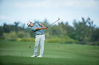 Kurt Kitayama (USA) during the 3rd round of the AfrAsia Bank Mauritius Open, Four Seasons Golf Club Mauritius at Anahita, Beau Champ, Mauritius. 01/12/2018<br /> Picture: Golffile | Mark Sampson<br /> <br /> <br /> All photo usage must carry mandatory copyright credit (&copy; Golffile | Mark Sampson)