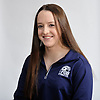 Miranda Lund of Plainview JFK poses for a portrait during Newsday's All-Long Island gymnastics photo shoot at company headquarters in Melville on Friday, March 23, 2018.
