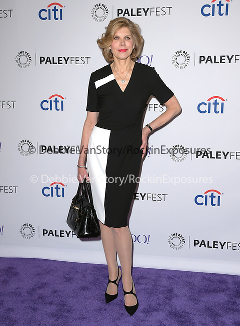 Christine Baranski attends 32ND ANNUAL PALEYFEST LA - The Good Wife screening held at The Dolby Theater  in Hollywood, California on March 07,2015                                                                               © 2015 Hollywood Press Agency