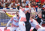 18.01.2020., Austria, Vienna, Wiener Stadthalle - European Handball Championship, Group I, Round 2, Croatia - Germany. Domagoj Duvnjak.  <br /> <br /> Foto © nordphoto / Luka Stanzl/PIXSELL
