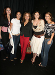 "At the play My Life As You are Connie Fletcher ""Erin Lavery"", Terri Ivens ""Simone Torres"", Susan Lucci ""Erika Kane"",  Eden Riegel ""Bianca Montgomery"" and Chrishell Stause on September 15, 2006 at the Producers Club II, NYC.  (Photo by Sue Coflin/Max Photos)"