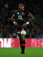 England's Semesa Rokoduguni<br /> <br /> Photographer Rachel Holborn/CameraSport<br /> <br /> International Rugby Union Friendly - Old Mutual Wealth Series Autumn Internationals 2017 - England v Argentina - Saturday 11th November 2017 - Twickenham Stadium - London<br /> <br /> World Copyright &copy; 2017 CameraSport. All rights reserved. 43 Linden Ave. Countesthorpe. Leicester. England. LE8 5PG - Tel: +44 (0) 116 277 4147 - admin@camerasport.com - www.camerasport.com