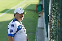 SAO PAULO, SP, 11.11.2013 - TREINO CT PALMEIRAS - O técnico do Palmeiras, Gilson Kleina, durante o treino no Centro de Treinamento do Palmeiras na Barra Funda, zona oeste da capital paulista nesta segunda-feira (11). (Foto: Marcelo Brammer / Brazil Photo Press)