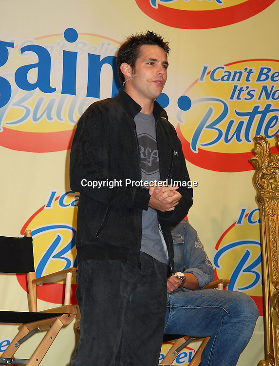 """Jason Cook ..at The """"Love Games"""" Competition to see who is the ..Next Spokesperson for """"I Can't Believe It's Not Butter"""" ..on June 7, 2006 at Madison Square Park. ..Robin Platzer, Twin Images"""