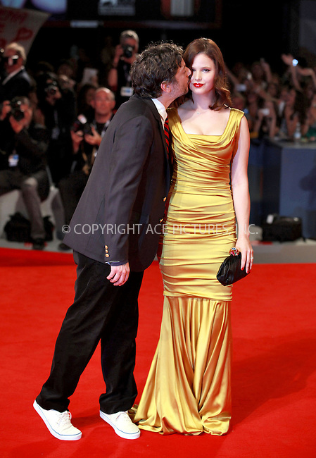 WWW.ACEPIXS.COM....US SALES ONLY....September 5, 2012, Venice, Italy.....Harmony Korine and Rachel Korine arriving at the premiere of 'Spring Breakers' on September 5, 2012 in Venice, Italy at the Venice Film Festival.........By Line: Famous/ACE Pictures....ACE Pictures, Inc..Tel: 646 769 0430..Email: info@acepixs.com