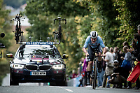 Remco Evenepoel (BEL/Deceuninck-Quickstep)<br /> Elite Men Individual Time Trial<br /> from Northhallerton to Harrogate (54km)<br /> <br /> 2019 Road World Championships Yorkshire (GBR)<br /> <br /> ©kramon