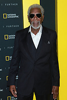NEW YORK, NY - APRIL 19: Morgan Freeman at National Geographic's Further Front at Jazz at Lincoln Center on April 19, 2017 in New York City. <br /> CAP/MPI/DC<br /> &copy;DC/MPI/Capital Pictures