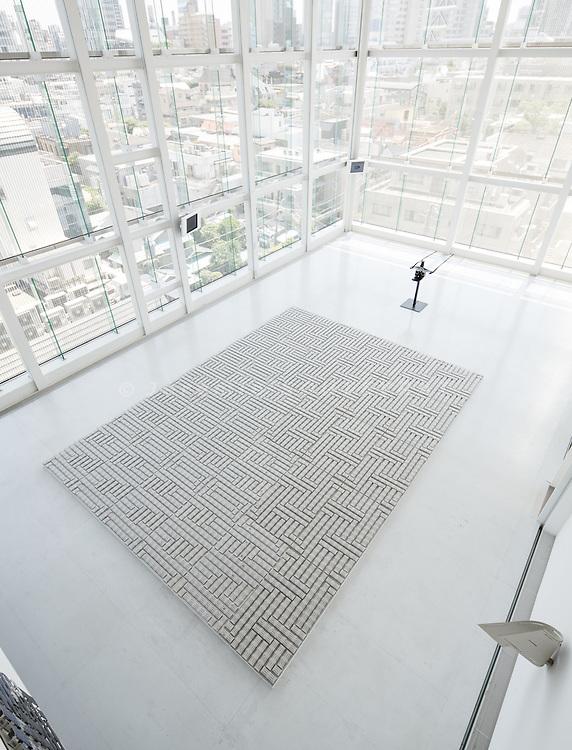 "Tokyo, May 15 2013 - Carmageddon - Exhibition ""Monuments of Traffic"" by German artist Thomas Bayrle at L'Espace Louis Vuitton Tokyo. ©Jeremie Souteyrat/Louis Vuitton"
