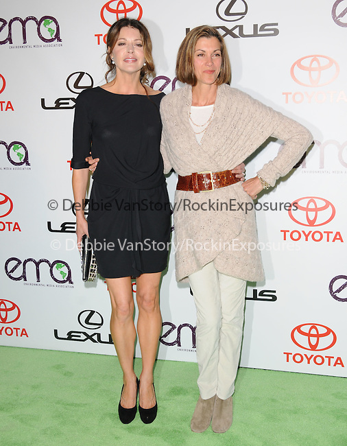 Jane Leeves and Wendie Malick at The 2010 Environmental Media Association Awards held at WB Studios in Burbank, California on October 16,2010                                                                   Copyright 2010  © Hollywood Press Agency