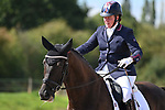Stapleford Abbotts. United Kingdom. 08 September 2019. Class 6. British dressage. Brook Farm training centre. Essex. UK.~ 08/09/2019.  MANDATORY Credit Garry Bowden/Sport in Pictures - NO UNAUTHORISED USE - 07837 394578