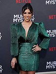 "Chrissie Fit 022 arrives at the LA Premiere Of Netflix's ""Murder Mystery"" at Regency Village Theatre on June 10, 2019 in Westwood, California"
