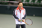 Naoki Inose, MARCH 4, 2013 : IOC Evaluation Commission visit at Ariake Coliseum, Tokyo, Japan. (Photo by AFLO SPORT)