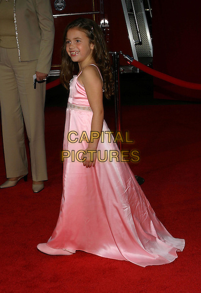 BROOKE HAMLIN.Ladder 49 World Premiere held at the El Capitan Threatre, Hollywood, CA, USA, 20th September, 2004..full length long pink dress.Ref: ADM.www.capitalpictures.com.sales@capitalpictures.com.©Capital Pictures.