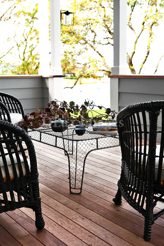 rattan balcony furniture