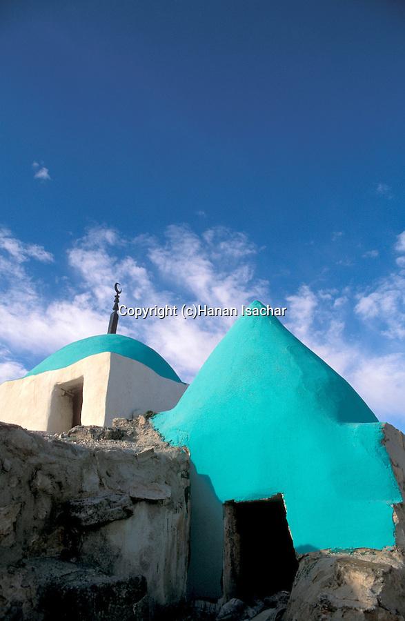 Jordan, the tomb of Nabi Yosha near Salt 30km from Amman&#xA;<br />