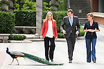 Cristina Cifuentes, Mariano Rajoy and Maria Dolores de Cospedal during the presentation of candidates to the Congress of Deputies in Madrid. May 24, 2016. (ALTERPHOTOS/Borja B.Hojas)