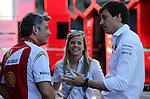 Susie Wolff hat heute best&auml;tigt, dass sie zur Offiziellen Testfahrerin f&uuml;r WILLIAMS MARTINI RACING in der Formel-1-Saison 2015 ernannt worden ist. Dieser Meilenstein ist ein weiterer Schritt in die richtige Richtung in der Formel-1-Karriere der 31-J&auml;hrigen.<br /> <br /> Im Zuge dieses Aufstiegs wird Susie in zwei Formel-1-Rennen und an zwei Testtagen in der Formel-1-Saison 2015 im Williams Mercedes FW37 das Steuer &uuml;bernehmen. Sie wird au&szlig;erdem umfangreiche Simulator-Tests durchf&uuml;hren, um dem Team bei der laufenden Weiterentwicklung der beiden Boliden zu helfen, dem FW37 und dem FW38.<br /> Archiv aus: <br /> usie &amp; Toto Wolff [AUT] Mercedes GP<br /> for the complete Middle East, Austria &amp; Germany Media usage only!<br />  Foto &copy; nph / Mathis