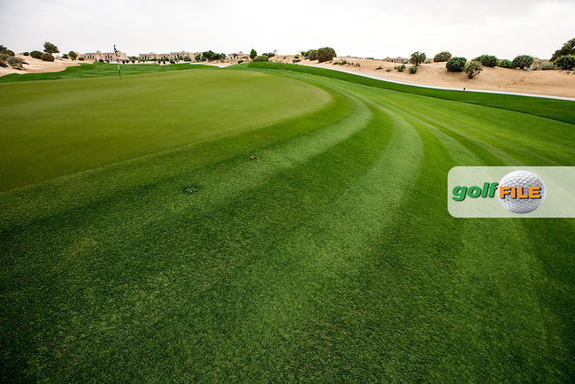 10th green at The Els Club , Dubai, United Arab Emirates.  28/01/2016. Picture: Golffile | David Lloyd<br /> <br /> All photos usage must carry mandatory copyright credit (&copy; Golffile | David Lloyd)
