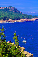 Frenchman Bay, Acadia National Park, Mount Desert Island, Maine, USA
