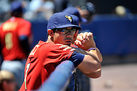 State College Spikes pitcher Matt Benedict #37 during a game against the Staten Island Yankees at Richmond County Bank Ballpark at St. George on July 14, 2011 in Staten Island, NY.  Staten Island defeated State College 6-4.  Tomasso DeRosa/Four Seam Images