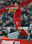 James Milner of Liverpool during the Premier League match at the Anfield Stadium, Liverpool. Picture date: November 26th, 2016. Pic Simon Bellis/Sportimage