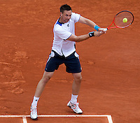 Robin Soderling (SWE) (5) against Marin Cilic (CRO) (10) in the third round of the men's singles. Robin Soderling beat Marin Cilic 6-4 6-4 6-2..Tennis - French Open - Day 8 - Sun 30 May 2010 - Roland Garros - Paris - France..© FREY - AMN Images, 1st Floor, Barry House, 20-22 Worple Road, London. SW19 4DH - Tel: +44 (0) 208 947 0117 - contact@advantagemedianet.com - www.photoshelter.com/c/amnimages