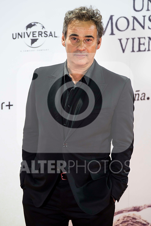 "Eduard Fernandez during the premiere of the spanish film ""Un Monstruo Viene a Verme"" of J.A. Bayona at Teatro Real in Madrid. September 26, 2016. (ALTERPHOTOS/Borja B.Hojas)"