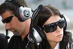 30 May 2008: Michael Andretti (USA) and Danica Patrick (USA) at the ABC Supply Company Inc. AJ Foyt 225 IndyCar race at the Milwaukee Mile, West Allis, Wisconsin.