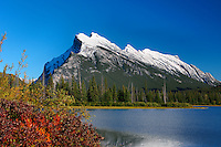 Vermillion Lake and Mt Rundle in Banff National Park