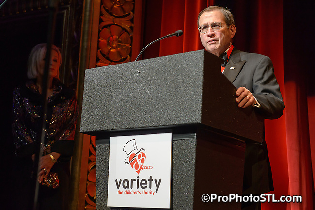 Variety the Children's Charity of St. Louis 80th anniversary gala at Peabody Opera House in St. Louis, MO on April 28, 2012.