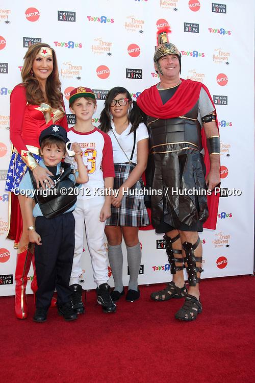 "LOS ANGELES - OCT 27:  Hether McDonald arrives at ""Keep A Child Alive Presents 2012 Dream Halloween Los Angeles"" at Barker Hanger on October 27, 2012 in Santa Monica, CA"